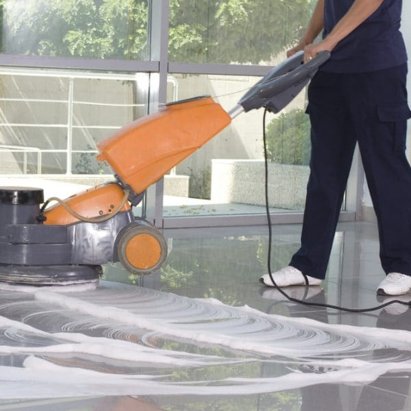 how often to clean tile floors professionally